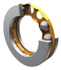 Thrust and thrust radial ball bearings