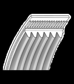 Ремні поліклинові (ручейні)