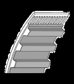 Ремні зубчаcті MXL XL L H XH